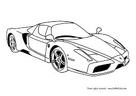 Enzo Ferrari Coloring Page Letmecolor