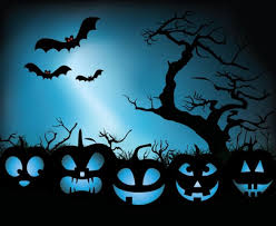 halloween pictures to download pumpkin of halloween with bat and night sky illustration
