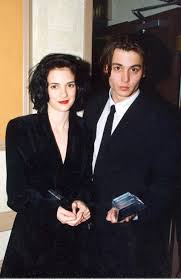 Winona Ryder And Johnny Depp They Are Both Beautiful это