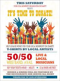 Fundraising Flyer Hands Flyer 6