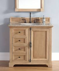 wood bathroom vanity. Excellent Unfinished Solid Wood Bathroom Vanities From James Martin Furniture Within Vanity Ordinary