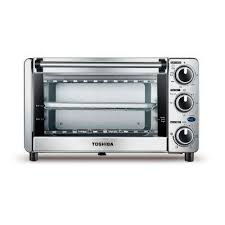 4 slice toaster oven in stainless steel