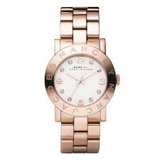 marc jacobs watches uk beaverbrooks the jewellers marc jacobs amy rose gold tone ladies watch