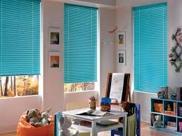 colored mini blinds. Bright Modern Blue Blinds For Windows And Playroom Interior Accent Colored Mini N