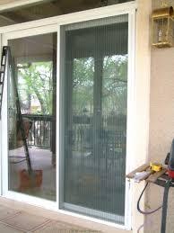 laliberte sliding patio retractable door screen 9
