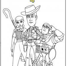 Toy Story 4 Disegni Da Stampare Cartoni Animati