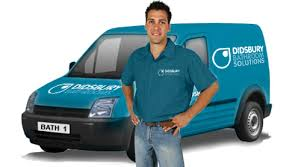 bathroom installers. didsbury bathrooms van bathroom installers