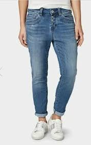 <b>Tom Tailor TAPERED RELAXED</b> ANKLE-LENGTH JEANS Womens ...