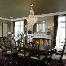 9 light gold french empire crystal chandelier foyer kitchen dining living room