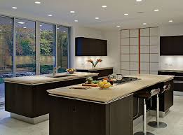 kitchen countertops quartz with dark cabinets. Dark Kitchen Cabinets Paired With Lighter Countertops Quartz O