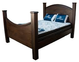 Shaker Curved Bed