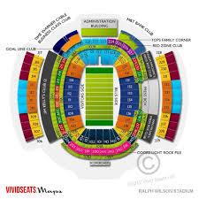 Ralph Wilson Stadium Interactive Seating Chart Ralph Wilson Stadium Seating