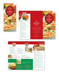 Take Out Menu Template Italian Restaurant Take Out Menu Template Dlayouts Graphic