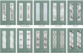 some glass designs let you choose the backing glass which lets you pick the obscurity on the inside of the double glazed unit designs that do not offer