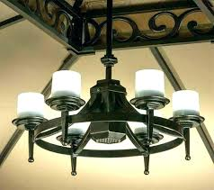 make your own solar chandelier check out awesome gazebo lights curbside treasure making reusing garden outdoor
