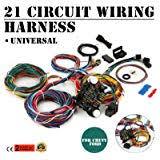 amazon com terrain vision 20 circuit wiring harness kit hot rod 20 circuit wiring harnessgmcolumn at 20 Circuit Wiring Harness