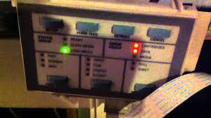 Hp Designjet 430 Error Lights Hp 450c Problems Youtube