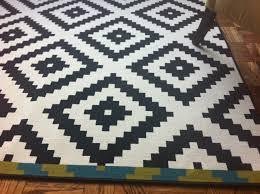 ikea area rug elegant black and white geometric rug ikea rug designs