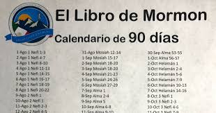 Book Of Mormon Reading Chart 90 Days 90 Day Book Of Mormon Reading Challenge What I Learned