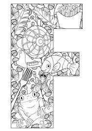 Teach Your Kids Their Abcs The Easy Way With Free Printables Coloriage LettreColoriages Lettrine L
