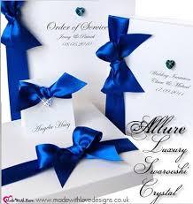 delicate ribbon invitations elegantweddinginvites com blog Ribbon On Wedding Invitation loyal blue ribbon wedding invitations tying a ribbon on a wedding invitation