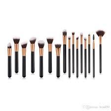 professional makeup brush kit wood handle makeup contour brush cosmetic eyeshadow foundation brushes set pvc ng dhl t16002 elf makeup makeup artist