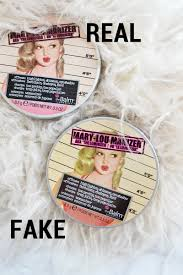 below are a few fake makeup s i bought for the purpose of this post that show the types of dels you need to be looking out for