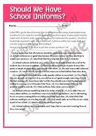 uniforms in school debate essay topic speech presentation  school uniform debate essay s architects persuasive essay and speech topics