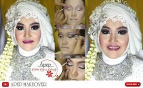 makeup wedding hijab tutorial makeup pengantin muslim wedding hijab modern 2016 nowchic
