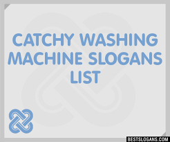 Catchy Vending Machine Slogans Classy 48 Catchy Washing Machine Slogans List Taglines Phrases Names