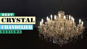 best crystal chandelier reviews 2018