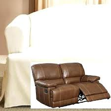 small reclining loveseat. Loveseats Anal: Recliner Loveseat Slipcover Dual Reclining Double Cover: Small