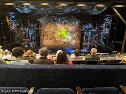 Gershwin Theatre Seating Chart View Gershwin Theatre Mezzanine View From Seat Best Seat Tips