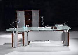 contemporary glass office furniture. Endearing Modern Glass Office Desk Furniture Place Desks New York Contemporary S