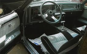 buick regal 1987 interior. 1987 buick regal grand national 2 door coupe interior 66190 buick regal