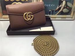 high purses gucci gg marmont leather mini chain bag 2 colors