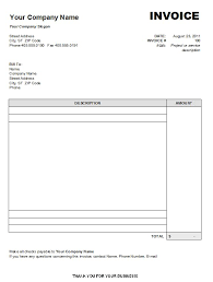 receipt blank free blank invoice template microsoft word invoice sample