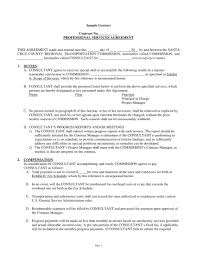 Example Of An Agreement 001 Template Ideas Contract For Services Professional