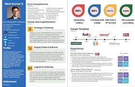 15 Infographic Resume Ideas For Non Creative Jobs Free Templates