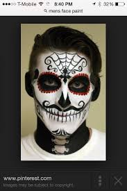 17 best images about day of the dead on skull makeup simple and