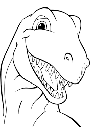 Small Picture Free Printable Dinosaur Coloring Pages For Kids
