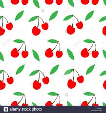 Rural Packaging Design Cherry Jam Simple Cute Seamless