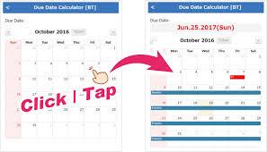 Pregnancy Calculation Calendar Due Date Calculator Pregnancy Calendar