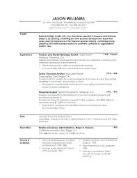 Good Entry Level Resume Examples Example Of Profile Sample Free