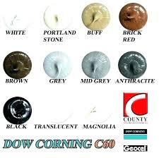 Colored Silicone Caulk Mline Info