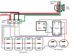 rotary phase converter help and troubleshooting Phase Converter Wiring Diagram my garage hoist2 jpg 3 phase converter wiring diagram