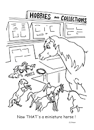 Horse Coloring Pages With Elf Also Pics For Kids Image Number