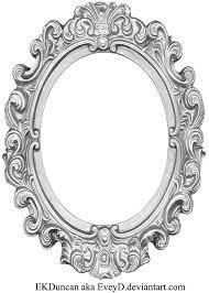 antique oval frame ornate. Brilliant Antique Ornate Silver Frame  Long Oval By EveyD  Inside Antique L