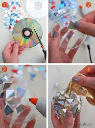 Small Picture 16 DIY CD Craft Ideas Using Recycled CDs That Are Scratched