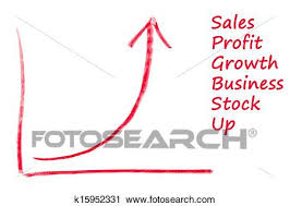 Exponential Growth Chart Clip Art K15952331 Fotosearch